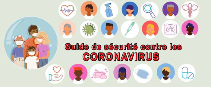 Guide de sécurité contre les coronavirus